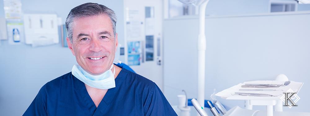 Dentista sorrindo