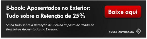 Botão para download de ebook Aposentados no Exterior: Tudo sobre a Retenção de 25%